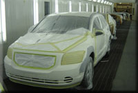 Body Shop Paint Job